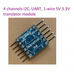 Level Conversion automatic translator Module 5-3v x 4 channels IIC I2C 1-wire