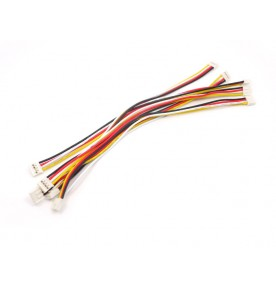 Grove - Universal 4 Pin 20cm Buckled Cable (5 PCs Pack)