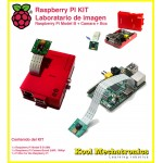 KIT RPI Camera : Raspberry Pi Model B + Raspberry Camara + Raspberry Box