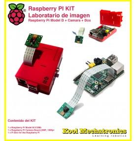 KIT RPI Camera : Raspberry Pi Model B + Raspberry Camara + Raspberry Box
