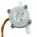 Flow Sensor Switch Meter Flowmeter Counter 0.3-6L/min