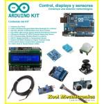 Kit Control, displays y sensores + Arduino UNO