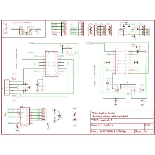 Motor Drive Shield Expansion Board L293d