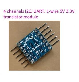 Level Conversion automatic translator Module 5-3v x 4 channels IIC I2C 1-wire