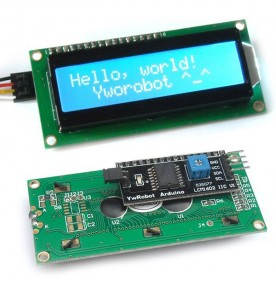 Character LCD Module Display 1602 16x2 interface I2C