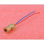 Laser Dot Diode Module Head WL Red mini 650nm 6mm 5V 5mW x 2