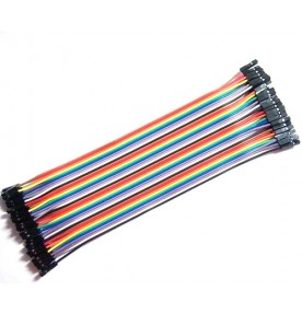 Dupont cables 40pcs×20cm female to female for Arduino Shield