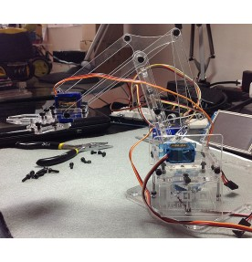 Corte Laser Acrilico 3mm meArm Robot Arm