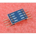 IIC I2C Level Conversion Module 5-3v System  ( SCL + SDA)  x 2 channels