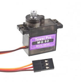 Micro MG90S SERVO Metal Gear 0.12sec / 60 degrees