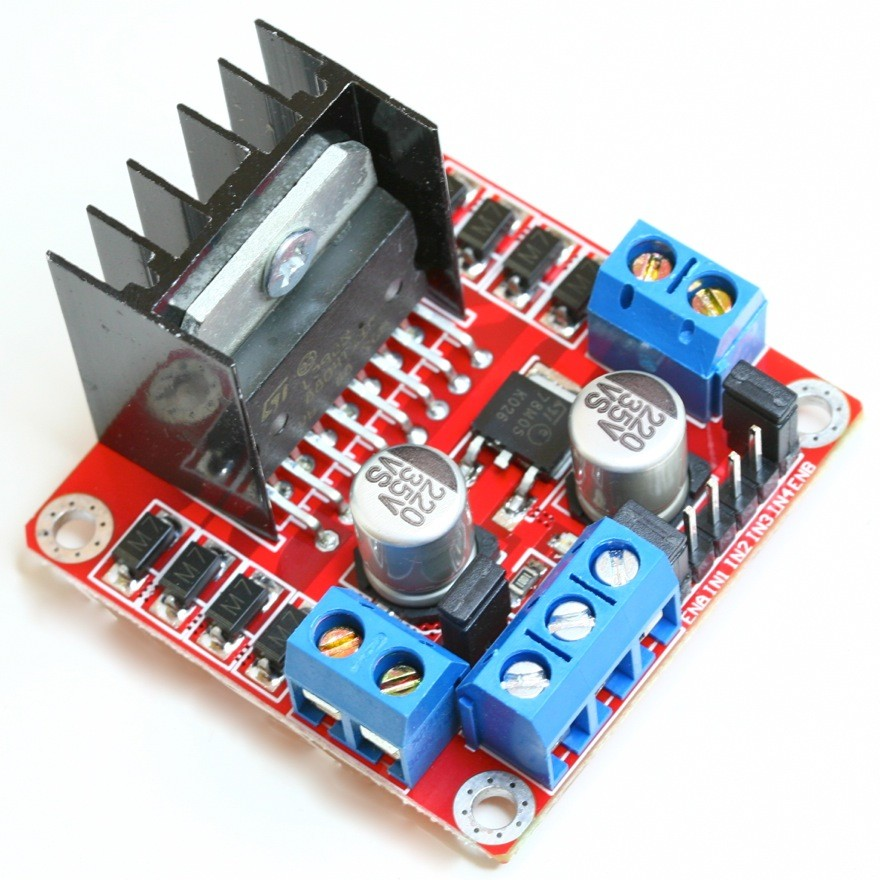 l298n dual h bridge dc stepper motor controller for