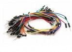 Male to Male Solderless Flexible Breadboard Jumper Cable Wires For Arduino, 65Pc