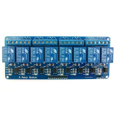 8-Channel 5V Relay Module for Arduino DSP AVR PIC ARM
