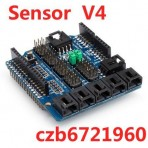 Sensor Shield V4 Digital Analog Module For Arduino Duemilanove / UNO