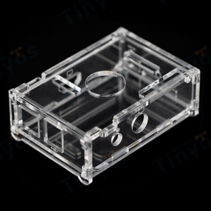 raspberry pi box clear