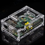 raspberry pi box clear01 with pi