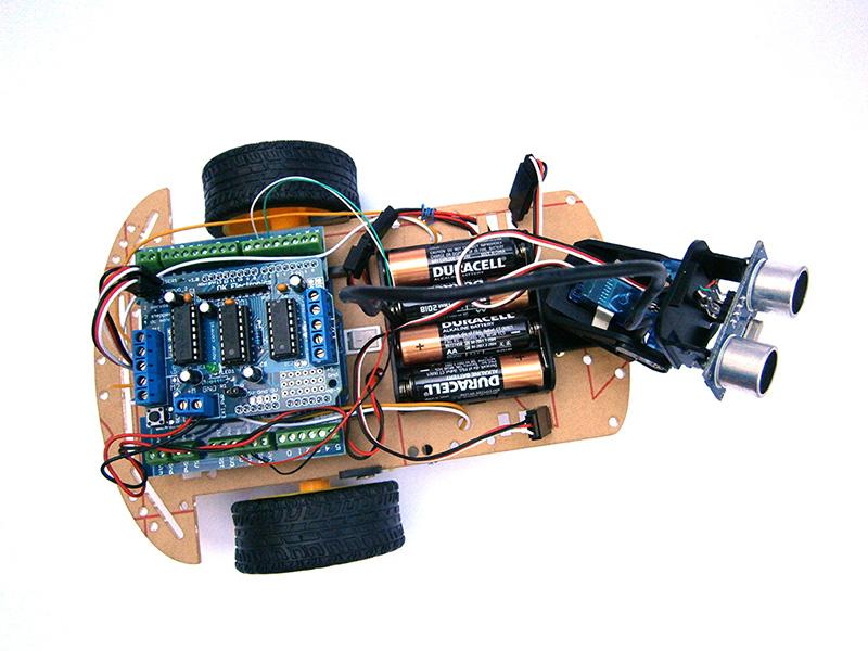 Robot ultrasonic up facilitadores de open hardware