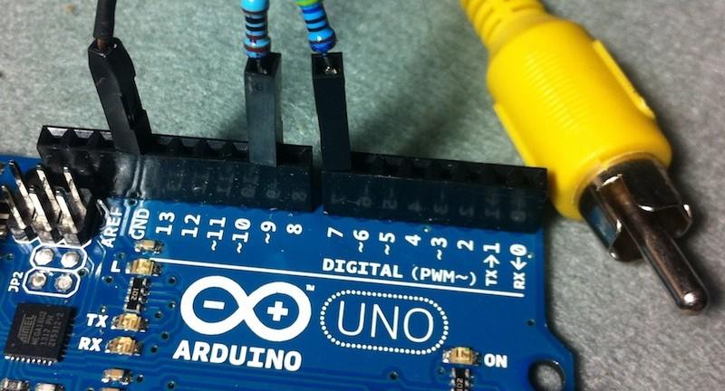 Conecta Arduino a tu TV para usarla como un display para tus proyectos.